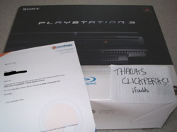 PS3 from ClickPerks