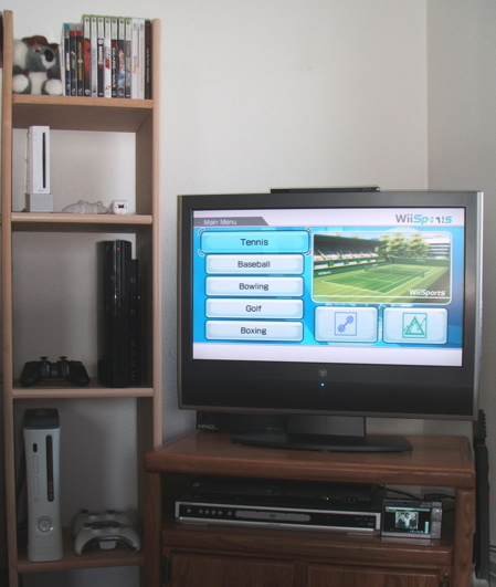 Video games console unit