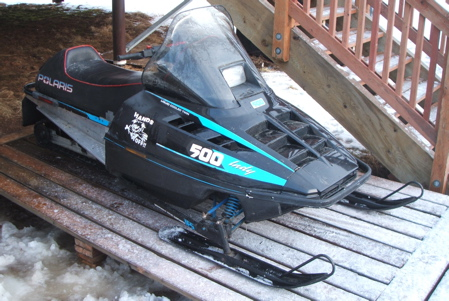 Polaris Indy 500 snowmobile