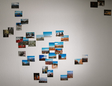Lower 48 photo wall