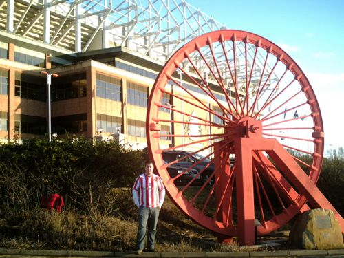 Outside Stadium of Light