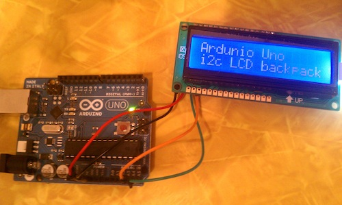 Arduino and 16x2 LCD
