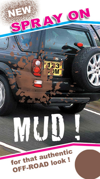 Spray on mud