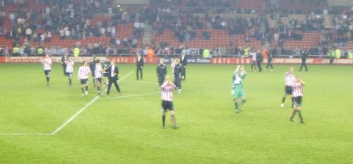 Sunderland lap of honour